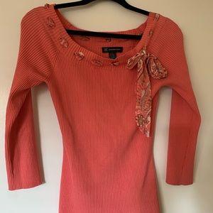 INC sweater blouse